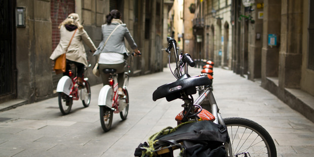 Ride through the streets of Barcelona. Photo / Creative Commons