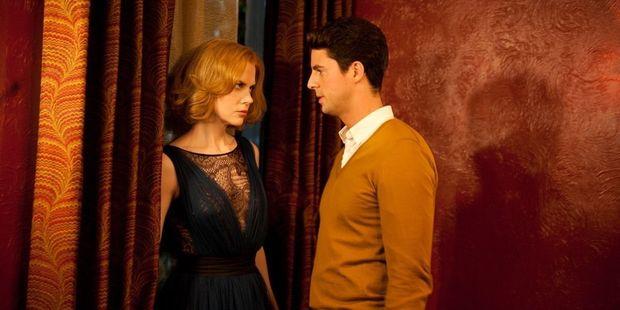 Nicole Kidman stars with Matthew Goode in the movie 'Stoker'.