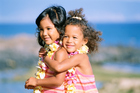 Children enjoying life in the Pacific Islands. Photo / Getty Images