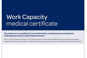 "The ""work capacity"" certificate replaces the old sickness benefit form."