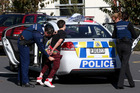 Police arrested three men in Tauranga Countdown after a chase through the city. Photo / Joel Ford