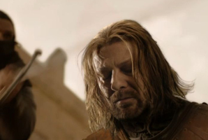 Eddard Stark was executed in the first season of the series.