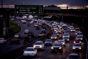 How to fund a $12b transport funding gap has left Auckland with limited options. Photo / Dean Purcell