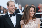 The Duke and Duchess of Cambridge. Photo / AP