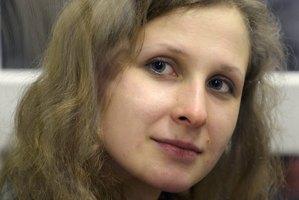Jailed feminist punk band Pussy Riot member Maria Alekhina. Photo / AP