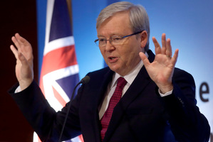Prime Minister Kevin Rudd said he regretted the deaths. Photo /  AP