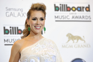 Alyssa Milano has penned a 'fast-paced cyber-thriller' story.Photo / AP