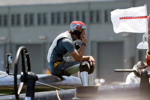 Team Luna Rossa aren't prepared to be as generous as Team New Zealand. Photo / AP