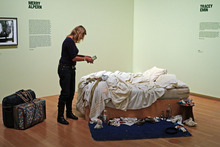 Charles Saatchi owns Tracey Emin's My Bed. Photo / DAPD