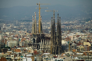 Sagrada Familia, in Barcelona. Photo / Supplied