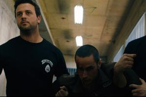 A scene from Omar, starring Adam Bakri.