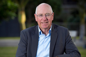 Sir Stephen Tindall says he would like to see a shrinking of the gap between rich and poor. Photo / Natalie Slade