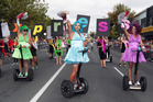 The Auckland Pride Festival parade on Ponsonby Road in Auckland. Photo / Doug Sherring