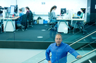 Rod Drury, founder of Xero, in his Wellington offices. Photo / David White.