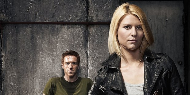 Claire Danes in the tv show Homeland.