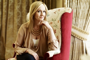 British author JK Rowling said it was liberating to write under a fake name.Photo / File
