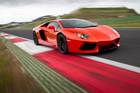 The Lamborghini Aventador - soon to be the car of choice for farmers?