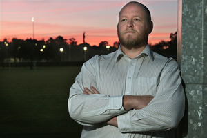 Beven Hanlon opposes drug testing. Photo / Warren Buckland