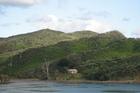View across The Narrows, Hokianga Harbour.