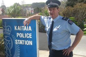 Kaitaia's top cop Geoff Ryan. Photo / Peter De Graaf