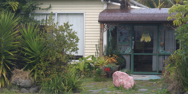 Kaitaia's Herb Shack, where a woman died late last month.  Photo / Peter Jackson
