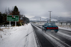 The big chill spread itself across Southland and Otago - including the Five Rivers district - at the weekend. Photo / SNPA