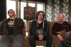 Nick Frost, Edgar Wright and Simon Pegg talk to Newstalk ZB movie reviewer Darren Bevan about their latest film, The World's End.