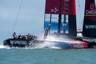 Team NZ say they can go faster.  Photo / Chris Cameron