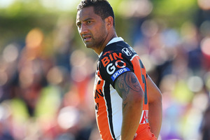 Would Benji Marshall excel in the 15-man code? Photo / Getty Images