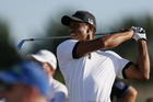 Tiger Woods made a good start in his bid to end his five-year drought in the majors. Photo / AP