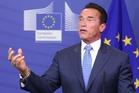 Californian Governor Arnold Schwarzenegger. Photo / AP