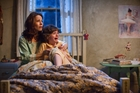 Lili Taylor and Joey King are confronted by the unexpected in The Conjuring.