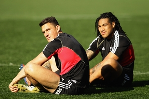 If Sonny Bill Williams was to return to the All Blacks, it would put Ma'a Nonu's test spot under serious threat.  Photo / Getty Images