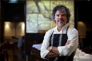 Chef Peter Gordon had culinary training at AUT. Photo / Natalie Slade