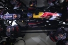 Witness a Formula One pit stop in super slow motion. Video courtesy RedBull
