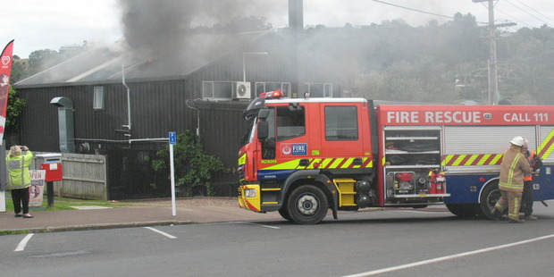 The cause of the fire at Island Thyme restaurant on Waiheke Island is yet to be established.