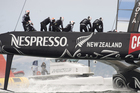 Team New Zealand raced alone for the third time. Photo / Chris Cameron/ETNZ