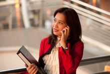 Women feel more powerful in the workplace wearing red.Photo / Thinkstock
