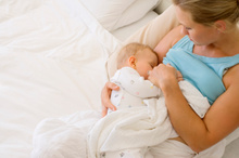 Researchers say breastfeeding can reduce the risk of ovarian cancer.Photo / Thinkstock