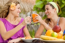 It takes just six weeks before you'll notice the benefits of healthy diet changes.Photo / Thinkstock