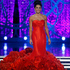Miss Illinois Megan Irvin competes in the evening gown portion of the Miss America 2013 pageant in Las Vegas. Photo / AP