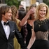 Musician Keith Urban, left, and actress Nicole Kidman arrive at the 70th Annual Golden Globe Awards. Photo / AP