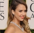 Actress Jessica Alba arrives at the 70th Annual Golden Globe Awards. Photo / AP