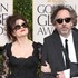 Actress Helena Bonham Carter, left, and director Tim Burton at the 70th Annual Golden Globe Awards. Photo / AP