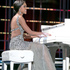 Miss North Dakota Rosie Sauvageau took top honours, after her piano and vocal rendition of 'To Make You Feel My Love', in Las Vegas. Photo / AP