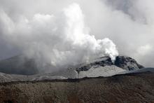 Te Maari Crater eruption on Mt Tongariro. Photo / Ben Fraser