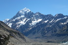 Aoraki-Mt Cook - the Cloud Piercer. Photo / Justine Tyerman