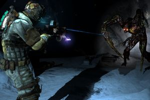 Dead Space 3 appears to be fun, though controversial. Photo / Supplied