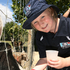 Meg Higgs, 9, from Napier pictured at the Haumoana Farmyard Zoo during a Camp Quality day out in Hawke's Bay. Photo / Glenn Taylor