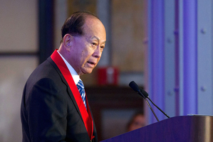 Sir Li Ka-Shing. Photo / Getty Images